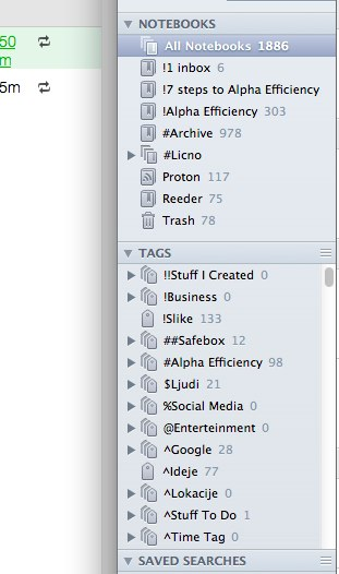 How To Organize Evernote Tags