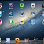 Springboard apps for iPad